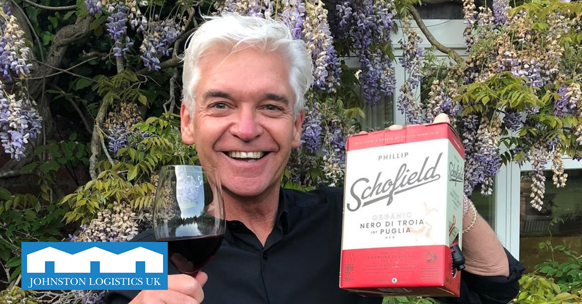 We are delighted to be delivering logistics for When in Rome wine.  When in Rome specialise in craft wines which are sold in eco-friendly packaging, even launching a wine specially selected by TV star Phillip Schofield earlier this year.  Read more: https://bit.ly/JLUKWhenInRomepic.twitter.com/QviTBDKvsl