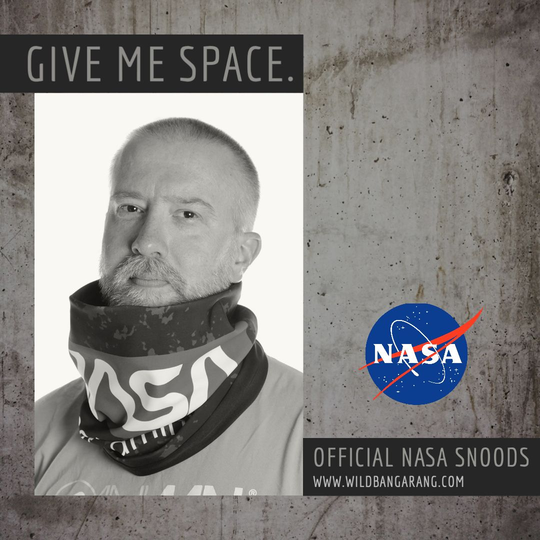 Chill out, take some space, and stay safe with our official NASA snood collection, launching this Wednesday only at https://bit.ly/2XHWNue... #face #covering #nasa #snood #official #space #moon #astronaut #shuttle #galaxy #wildbangarangpic.twitter.com/qLtSlkw5vo