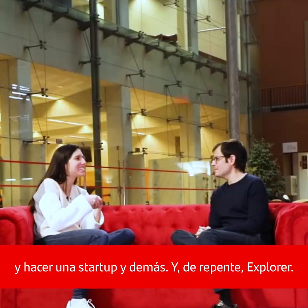♻️¿Sabes qué es el bioplástico biodegradable? Lo cuenta @PatriAyma gracias a su paso por @ExplorerByX, un programa de emprendimiento que convirtió su idea, @VEnvirotech, en un modelo de negocio capaz de mejorar la vida de las personas. Descubre su historia👇
