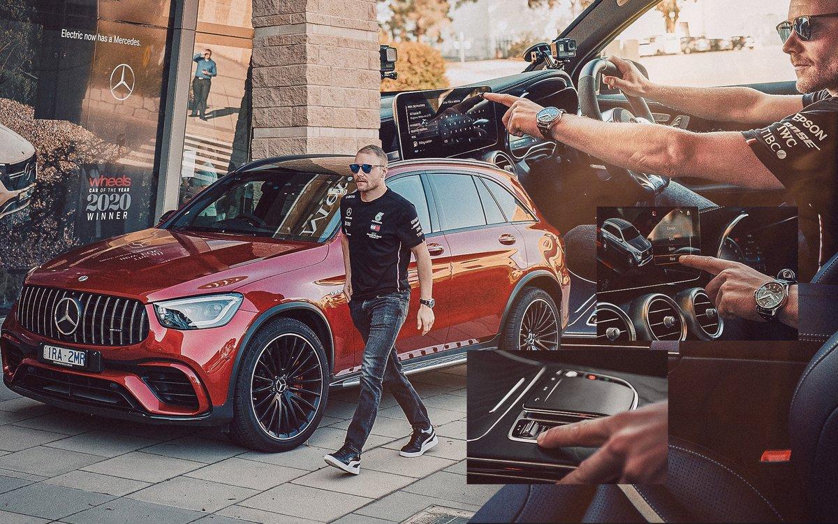 [Kraftstoffverbrauch kombiniert: 12,4 – 12,3 l/100 km | CO₂-Emissionen kombiniert: 282 – 280 g/km | https://t.co/B5vtjK1VFs | Mercedes-AMG GLC 63 S 4MATIC+] The right setting for every driver type.⚙️💯 @ValtteriBottas enjoys the AMG DYNAMIC SELECT driving program. https://t.co/4pRKLc6qin
