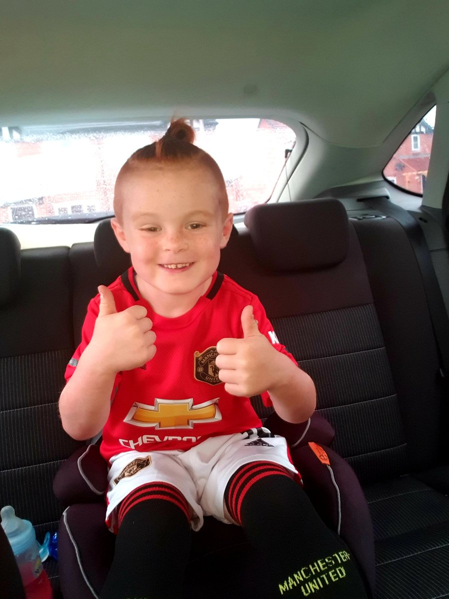 Off to Old Trafford to buy the new kit ⚽️❤