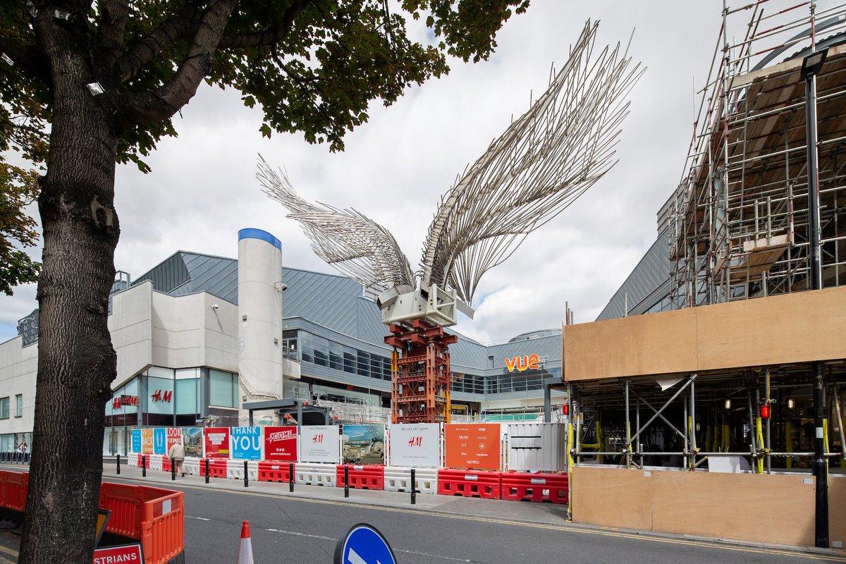 CBRE Global Investors has announced the raising of the angel wing sculpture,as part of the centre's £16m refurbishment plansatAngel. Find out more here https://www.a1retailmagazine.com/latest-news/angel-central-raises-the-iconic-wings/… #retail #retailnews #shoppingcentre #sculpture #Islington #Londonpic.twitter.com/v1U1Ipb8O9