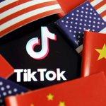 Image for the Tweet beginning: Trump kræver salg af TikTok