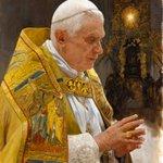 "Image for the Tweet beginning: Nueva obra: ""Benedicto XVI"".  Óleo sobre"