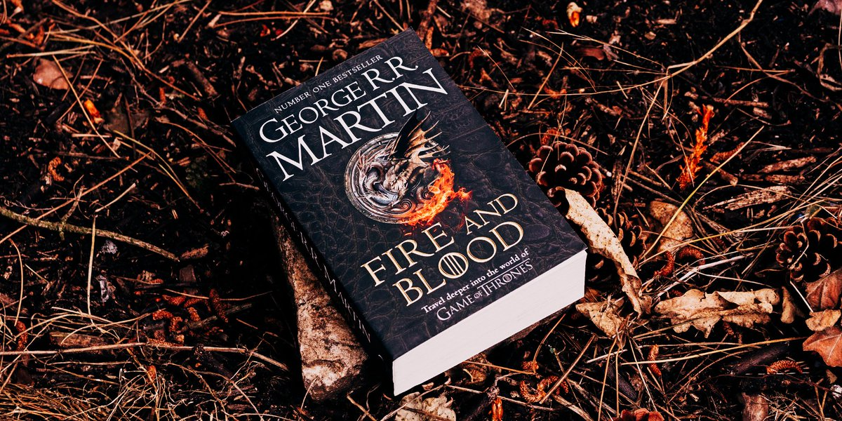 Are you ready to meet the Targaryens? The paperback of @GRRMspeakings blazing #FireAndBlood lands on Thursday. 🔥 hyperurl.co/FireAndBloodPB