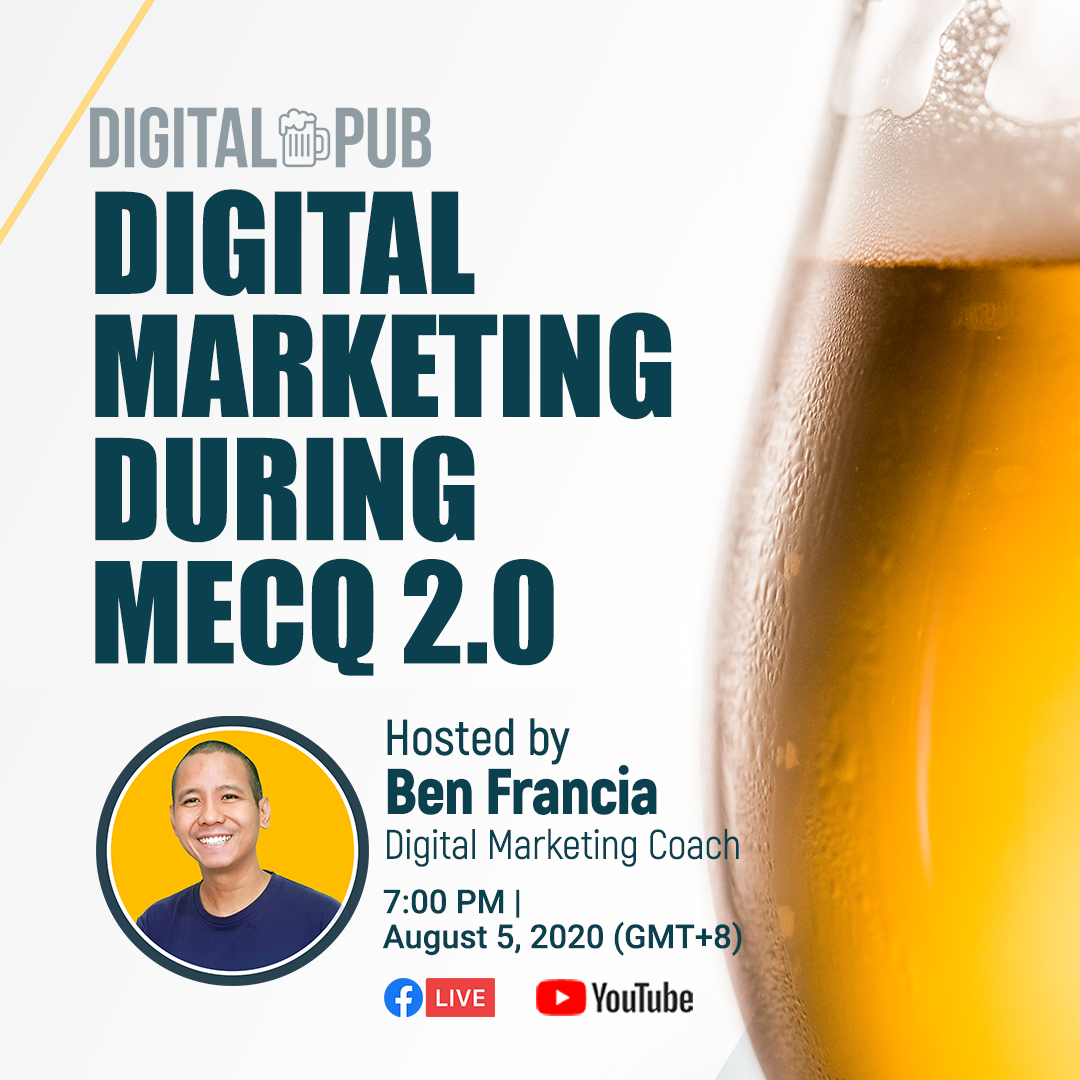 Join us tomorrow night, August 5, 2020 at 7PM as we brew another conversation on digital marketing and entrepreneurship! :)   #FranciaDigitalMarketing #MakeItHappen #DigitalMarketing https://t.co/ZcEtE79Gqe