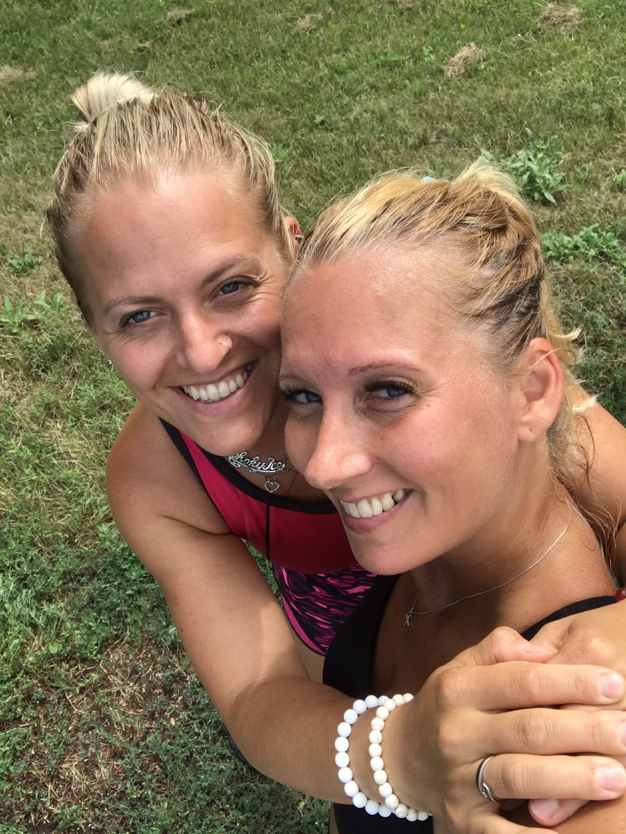 I had my sister joining for today's #run - rare but precious time #sisterlove #WeAreActive #DoctorActive #ImperialActive #Balaton https://t.co/m9noYZ3W8U