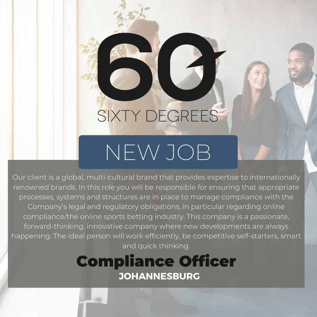 test Twitter Media - New #JobAlert - Compliance Officer in JHB  https://t.co/AdDQLo9Puq  #compliancejobs #60Degrees #60DRecruiter #60Droles https://t.co/w41FgbeOC7