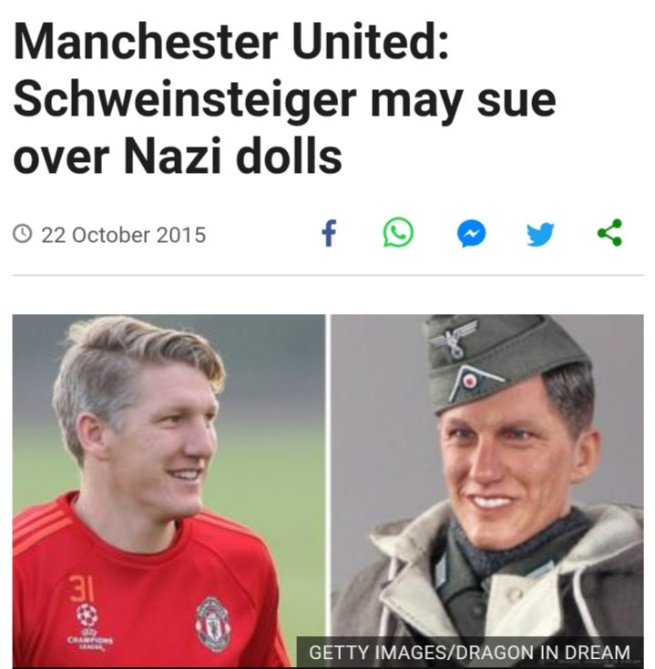 Remembering that time a Hong Kong toy company thought they could produce Nazi soldier toys in the image of Bastian Schweinsteiger. https://t.co/7gd9VePzXt