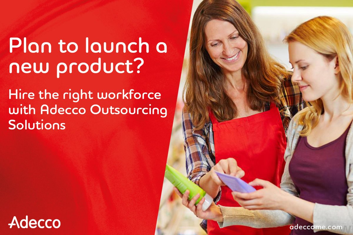 Planning to launch a new product in market? Or need to get rid of old stock? We have the right manpower to help you increase footfall and boost your sales.  Get in touch with us at adeccoae.info@adecco.com #adeccomiddleast #OutsourcingSolutions #SalesPromoters #BrandAmbassadors https://t.co/IS0aQufmPp