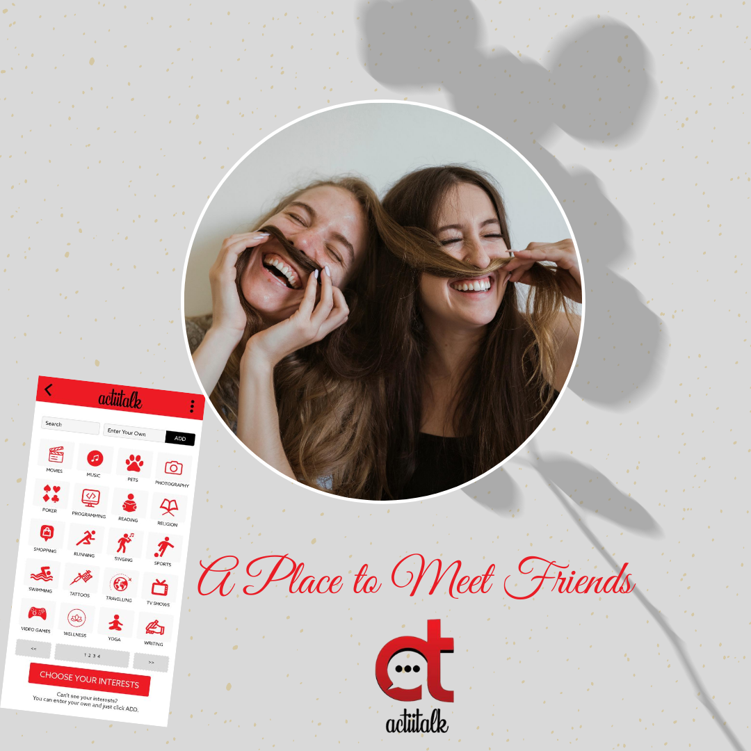 Find New Real Friends with Actiitalk   you can make friends from nearby or from around the world. Subscribe now! https://actiitalk.com/  #actiitalk #launchingsoon #launch pic.twitter.com/G5lAQ9dAaJ
