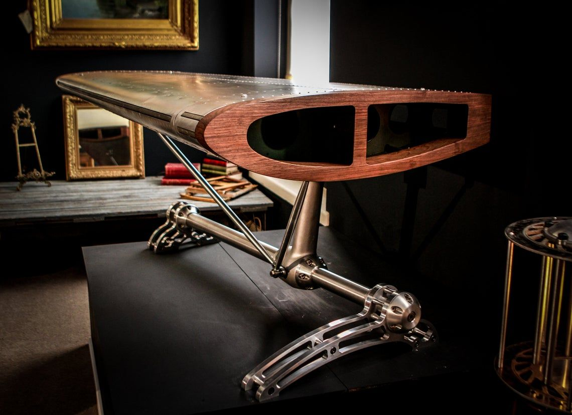 Aeroplane wing desk Ad - Check it out - https://bit.ly/31dBO2H  #aeroplane #aviation #mancave #furniturepic.twitter.com/kGEBclFUM6
