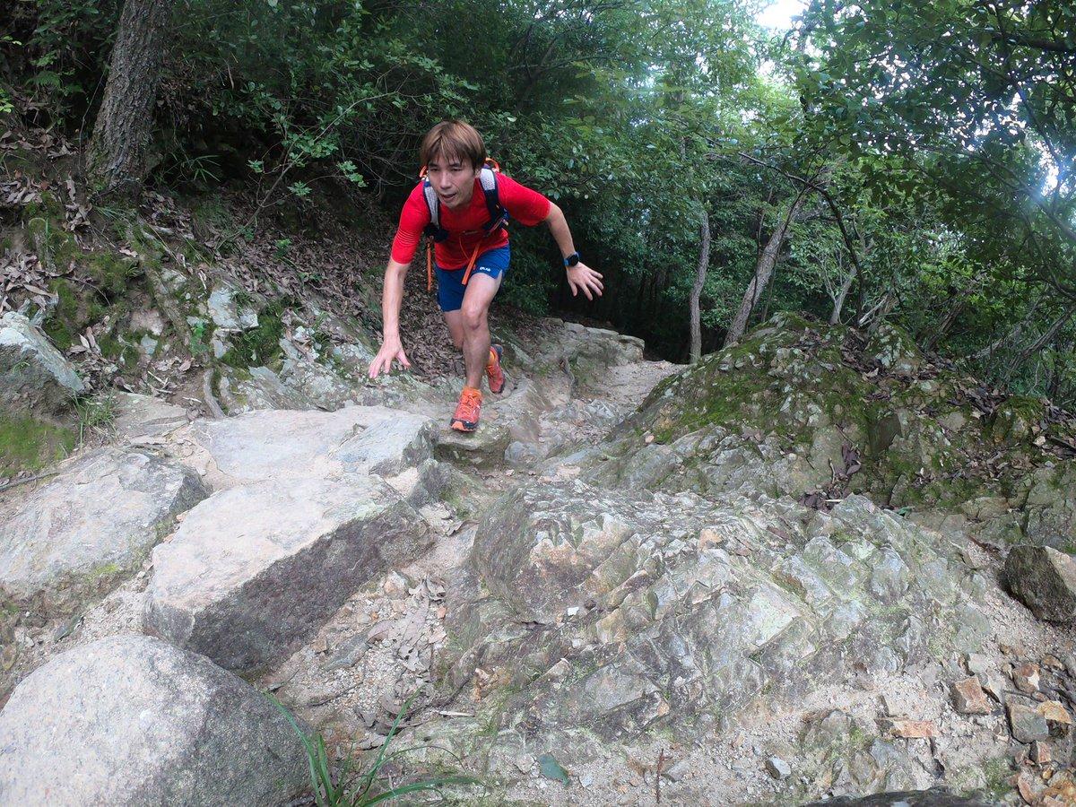 今日は山の中へ。久しぶりに履いたCloudventureはやっぱり最高。若干湿った岩の上も問題なく通過。この安心感が好き。#onrunning#OnFriends#ワンプラスワン https://t.co/DsXJlq0WnL