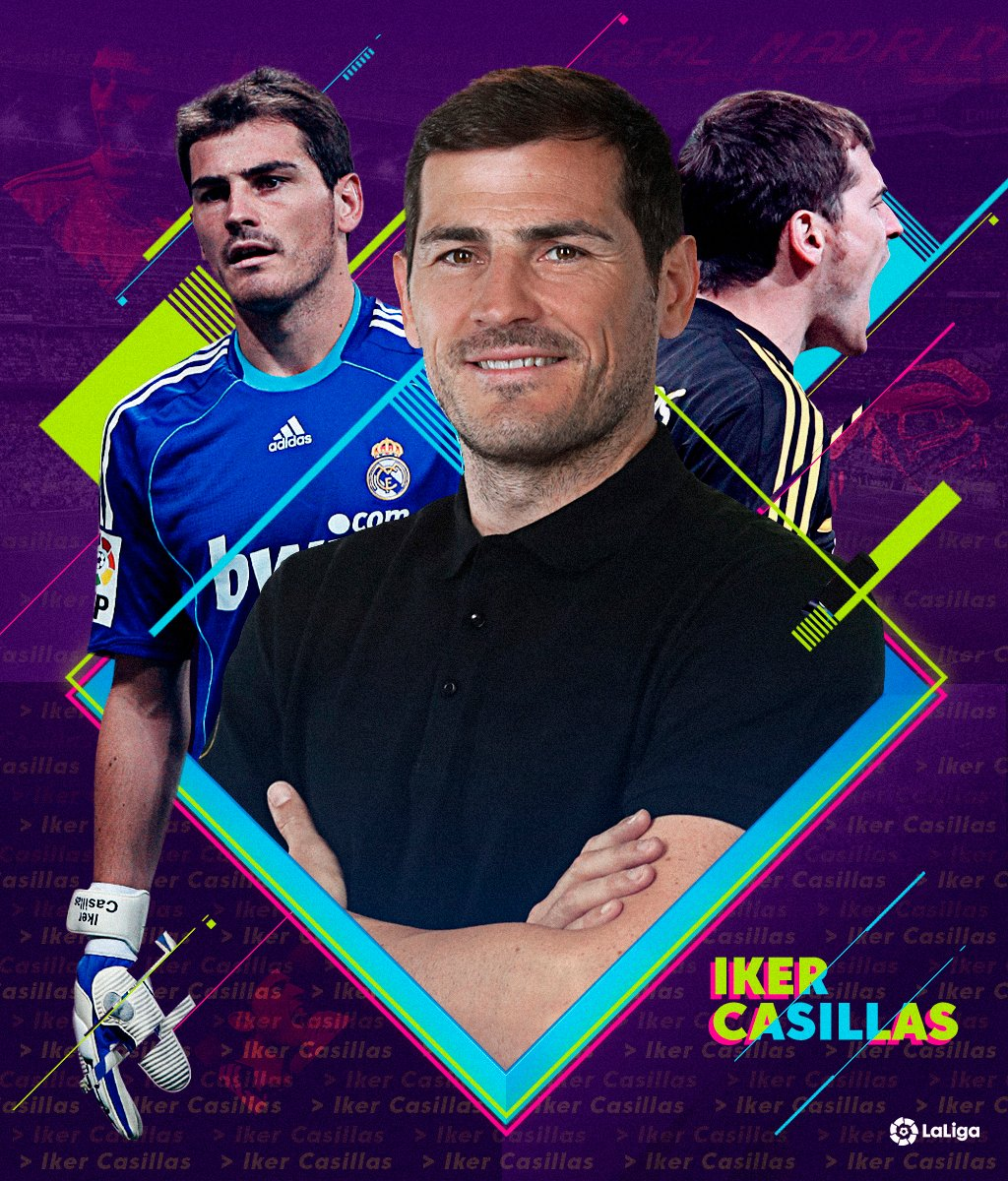 Official: @IkerCasillas announces his retirement from professional football. 💜  THANKS FOR EVERYTHING, SAN IKER! 👼  #LaLigaIcons