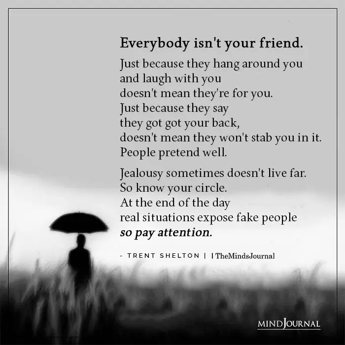 Toxic friendship