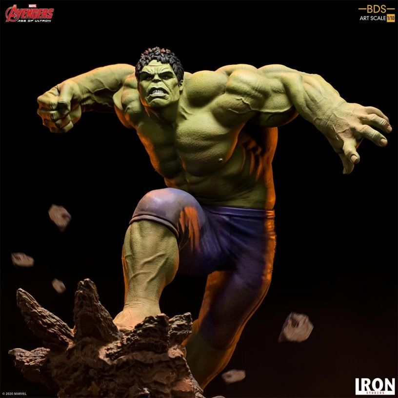 #Marvel #Avengers #AgeOfUltron 1/10 BDS Art Scale #HULK Statue https://buff.ly/39UYTLz @IronStudiospic.twitter.com/4BDhN5e18q