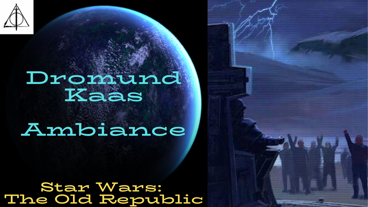 Enter the Capital of the Resurgent Sith Empire!  : https://www.youtube.com/watch?v=IjvGfHs3XAo…  #StarWars  #theoldrepublic #dromundkaas #ambiance #ambient #sounds #sith #empire #darkside #sithemperor #content #contentcreators #jungle #share #stormpic.twitter.com/CdLBZFSewC