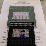 Image for the Tweet beginning: Completed my @GWRHelp IET #StitchTrainWorcs