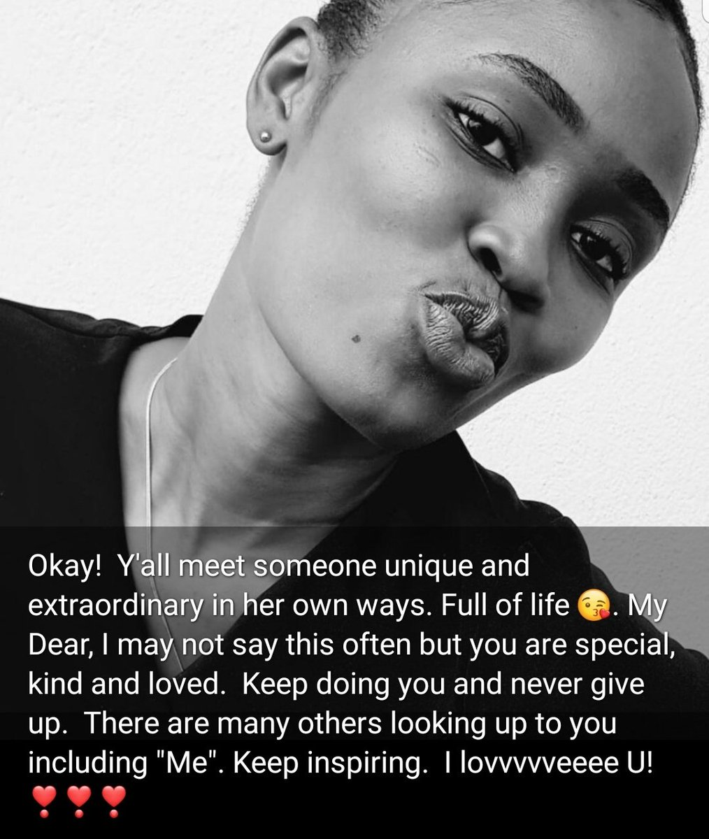 You are so kind, Debbie. Thanks for letting me know. I am inspired even more, as I beat the odds of time. Im humble to all of you who look up to me for inspiration in whatever youre doing. To God be praise🙏🏿 Proud of you, young lady❤