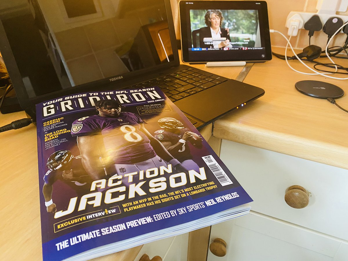 As always @neilreynoldsnfl and all @Gridiron deliver another outstanding Ultimate season Preview. Amazing work guys! Well done and thanks for giving the #nflukfans a great product.  @MatthewGridiron @_JoshPeacock_  @SiClancy @WillGav @NFLUK @4thandinchesUK @georgereynolds_ https://t.co/bVHfKcEn73