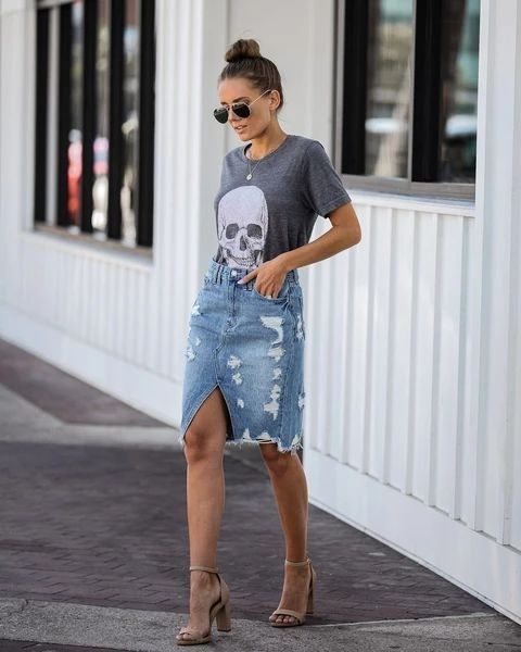 Denim is timeless NEVER throw denim away The more distressed & worn out the better  #whatcouldiweartoday #denim #skirts #pencilskirt #paperbag #fulllength #mini #midi #womenswear #streetstyle #styleinspiration #fashionblogger #styleinfluencer #fashionblogger #SouthAfricapic.twitter.com/slswKrwT4x