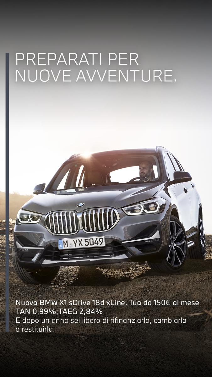 Nuova BMW X1 sDrive 18d xLine ⏩ 150 EURO AL MESE ⏪ 📍 TAN 0,99% 📍 TAEG 2,84%* Paradiso Concessionaria ufficiale di Vendita e Assistenza BMW  #BMW #TheX1 #ParadisoBMW #ParadisoGroup https://t.co/OmFbydvX1v
