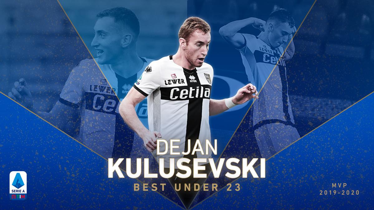 Gli MVP della #SerieATIM 2019/2020 🥇 Kulusevski è il miglior under 23. ⚡ ⚽ Accompagna la visione di gioco alla resistenza fisica di un tornante, sviluppando un indice di stress fisico spesso superiore al 95%. bit.ly/MVPSerieA @1913parmacalcio #WeAreCalcio