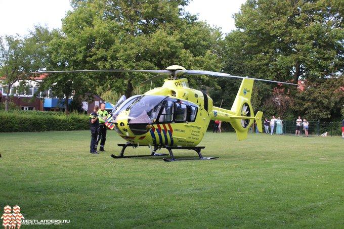 Traumahelikopter naar Naaldwijk voor reanimatie https://t.co/7lF9bHedv8 https://t.co/dnMu6ROHU4