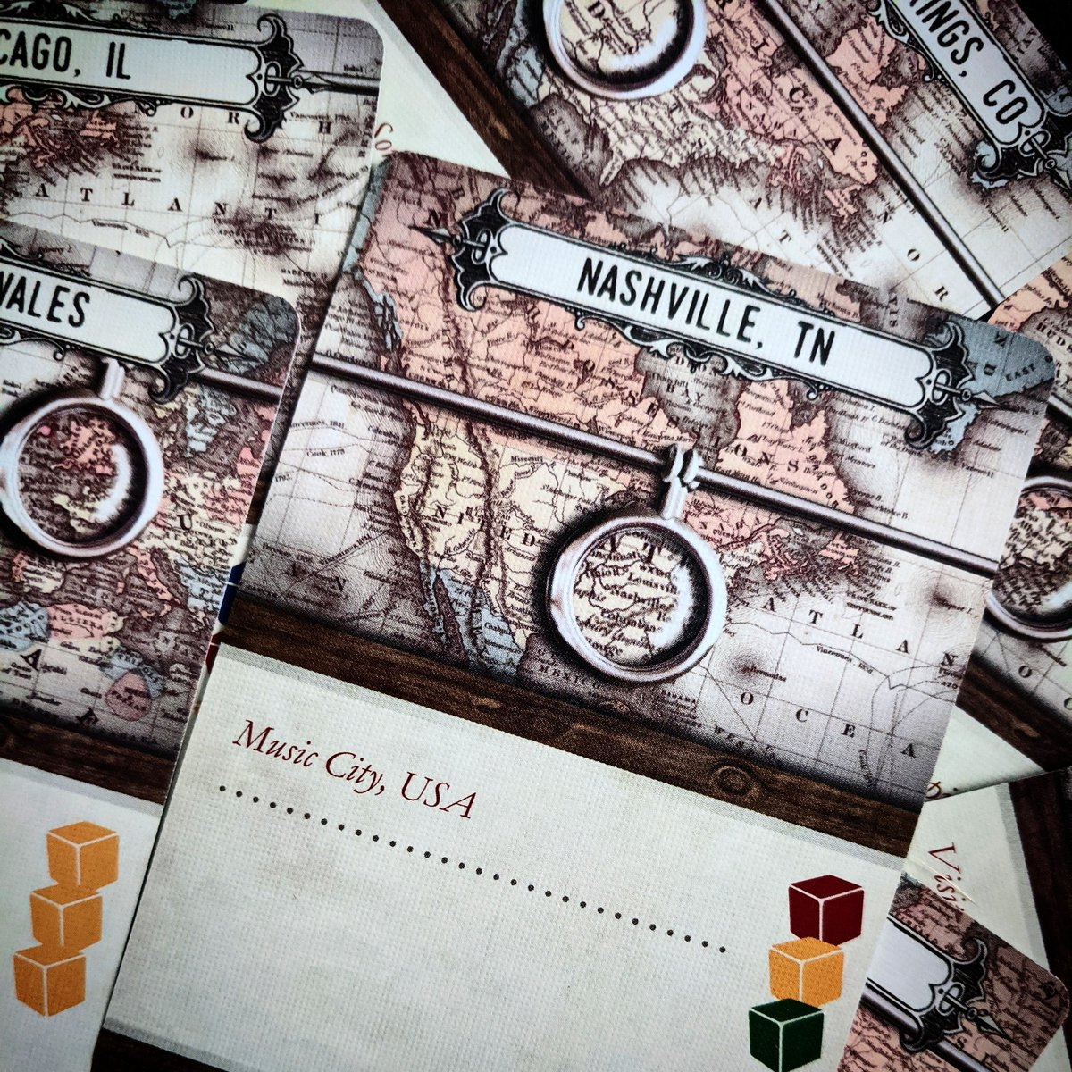 Nashville, TN! Is that where the next artifact will be? Find out in Warehouse 13: The Board Game now available on Amazon. #warehouse13boardgame #warehouse13 #infinitedreamsgaming #bgg #boardgamegeek #newgames #hiddentraitor #loyalagent #Kickstarter #newgames #dontstresspic.twitter.com/wllZcTXHX0