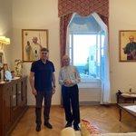 Image for the Tweet beginning: S predsjednikom Hrvatske biskupske konferencije