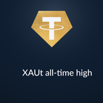 Image for the Tweet beginning: XAUt just hit an all-time