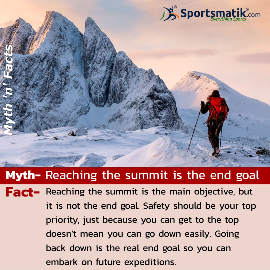 Follow #Sportsmatik to know more amazing #myths and #facts about your favourite #sports and personalities.   #mythandfacts #mountaineering #mountainlife #mountainlifestyle #sportslife #instasports #sportscenter #indiansports #sportslover #sportstalk https://t.co/OKHFlG23b7
