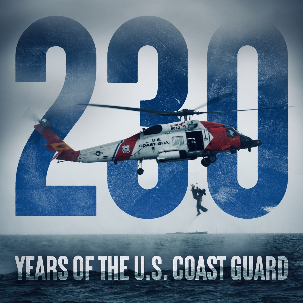 Today, we celebrate 230 years of those who protect America's economic prosperity, national security, and its borders. Happy Birthday, U.S. Coast Guard!