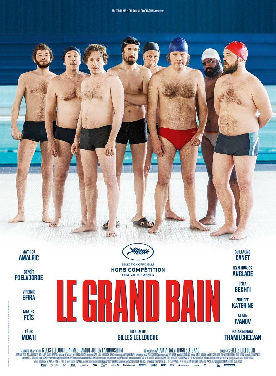 """Ce soir, #Belété à #Lormont. Rendez-vous à 22h dans la cours de l'école Paul fort pour une séance de #cinéma en #pleinair. 🎬 Au programme, """"Le grand bain"""" ! #CinémaSousLesEtoiles https://t.co/3VMACBYEzn"""