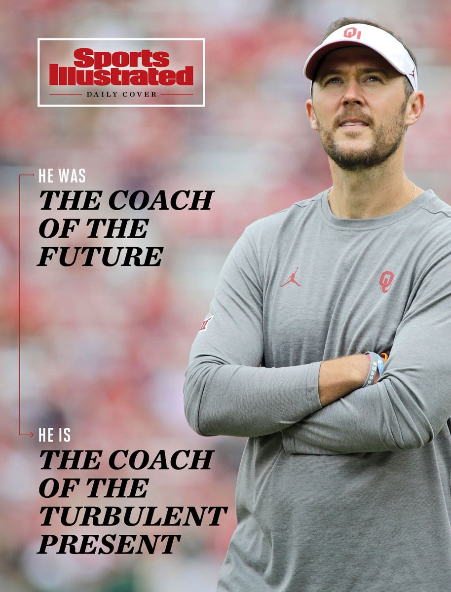 SI Daily Cover: Lincoln Riley has long been innovative and adaptive on the field.  Now, it's that very spirit that could make him the ideal coach in 2020—both on and off of it https://t.co/VqmrACB2z3 https://t.co/k173cyfxQd