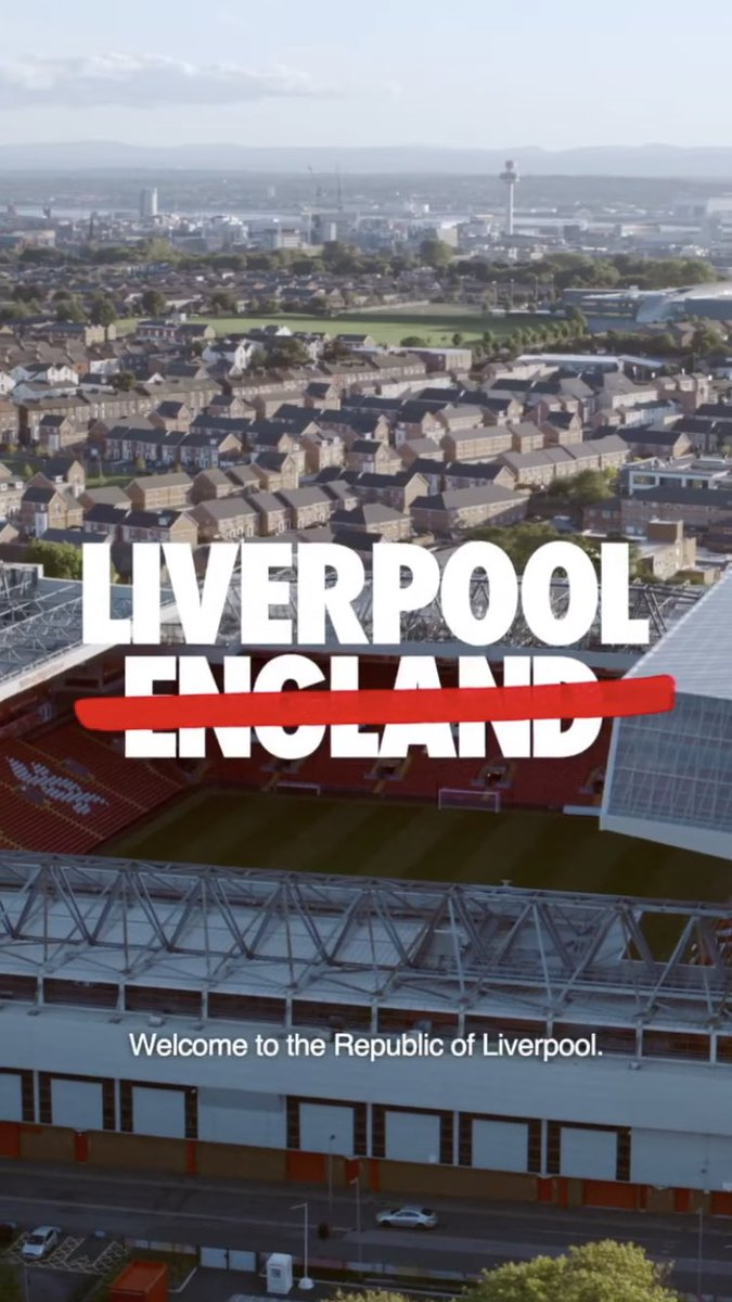I just can't believe Nike said scouse not english with their chest