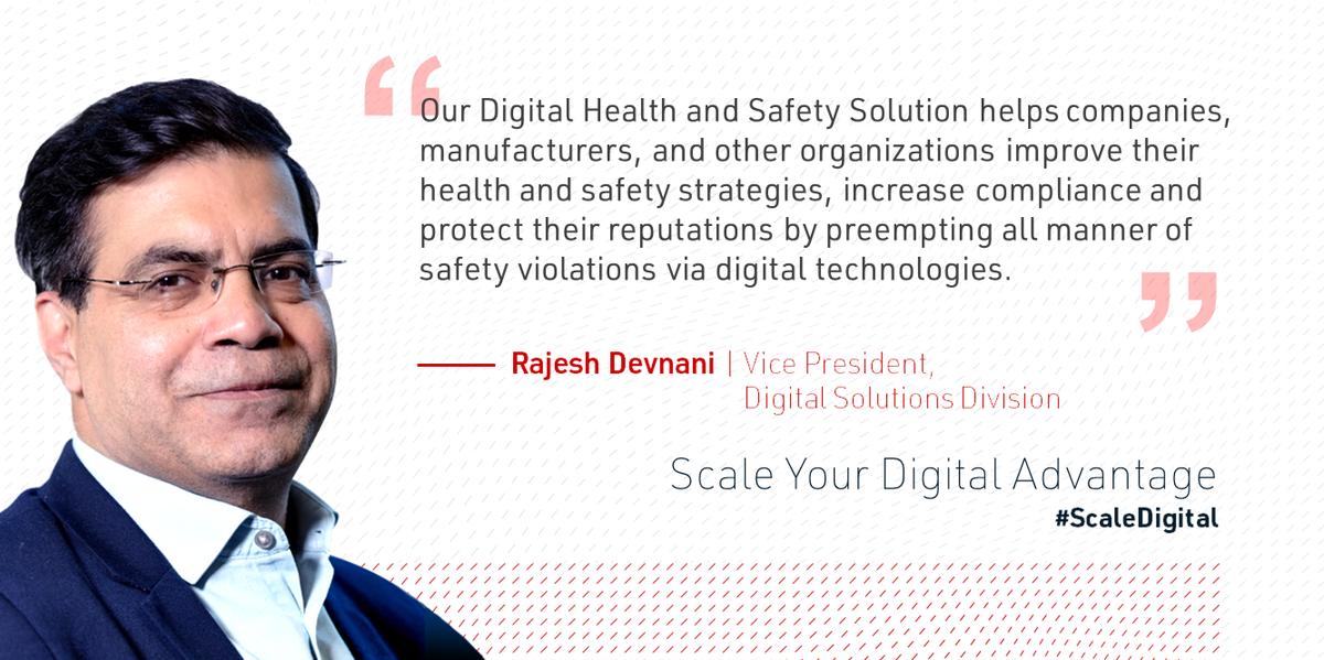 HitachiVantaraNow is the time to build a #digital foundation for the future. Rajesh Devnani shares tips to thrive in #thenewnormal with a #health and #safety strategy: https://t.co/CYhDqf1xft #ScaleDigital https://t.co/nI5FqrE2Tj