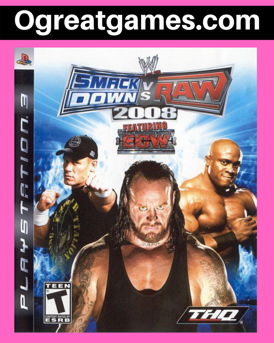 RT if you have ever heard of WWE SmackDown vs. Raw 2008! https://ogreatgames.com/products/wwe-smackdown-vs-raw-2022… #videogamer #game #playstation #ps3 #retweetpic.twitter.com/yKVkpJFJGa