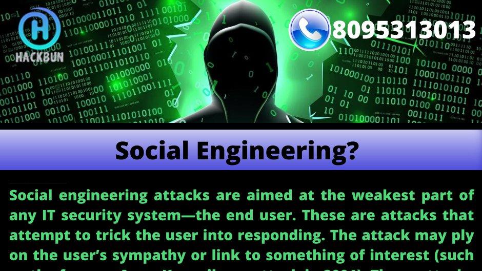 Social Engineering  #hacking #besthackingcourses #courses #onlinecourses #hackingpage #hackingservices #cybersecurity #besthacking #hackingtricks #hackingnews #newsofhacking #hacker #hackers #linux #ethicalhacking #programming #hackers #kalilinux #socialengineeringpic.twitter.com/uHLXrpqoQ5