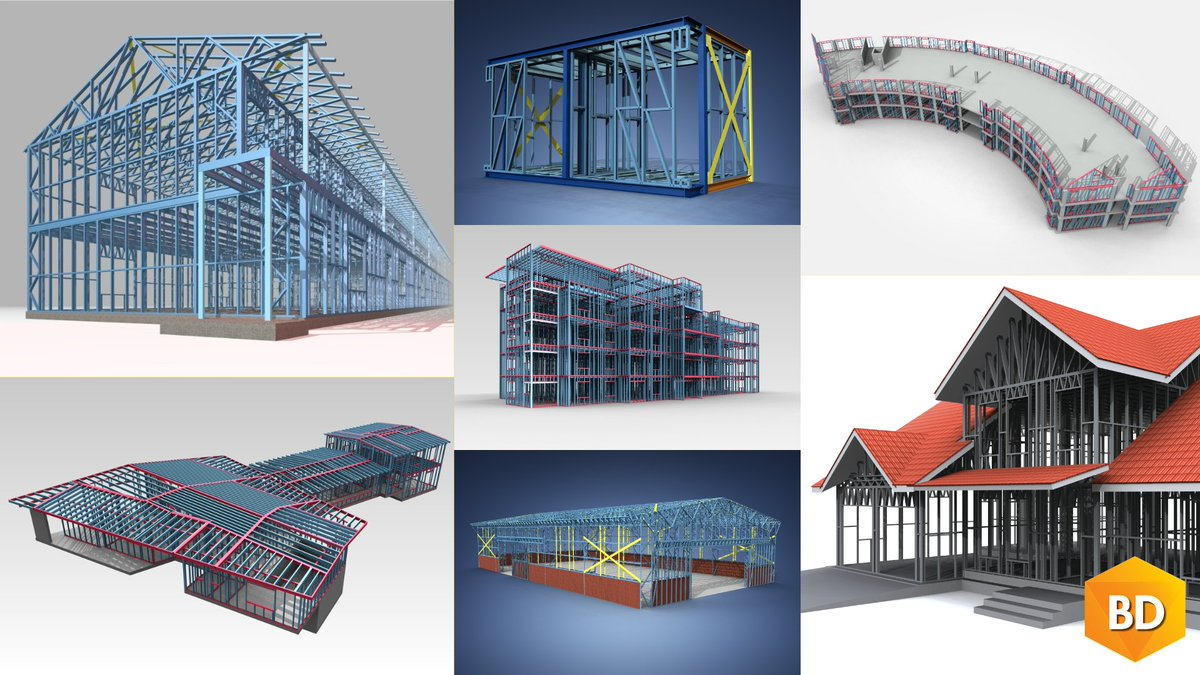 Residential, Commercial, Industrial... #VertexBD for #ColdFormedSteel is the most customisable framing software on the market, featuring material libraries, framing details, and rules; all of which can be modified to work with each unique project: https://bit.ly/3bGhw6F . #BIMpic.twitter.com/FvQ1ea04xV