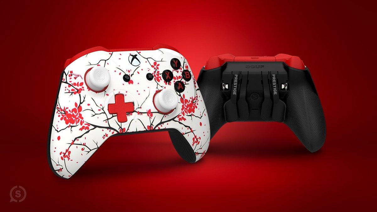 It's the cherry on top. Build your SCUF Prestige for @Xbox Series X, Xbox One, and PC: scuf.co/prestige
