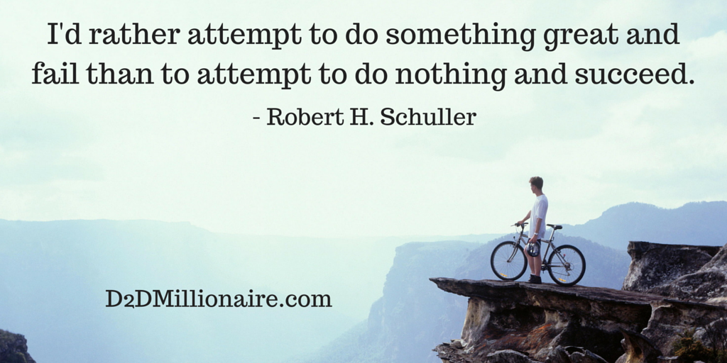 I'd rather attempt to do something great and fail than to attempt to do nothing and succeed. #quote #successquote pic.twitter.com/oioXHayxQh