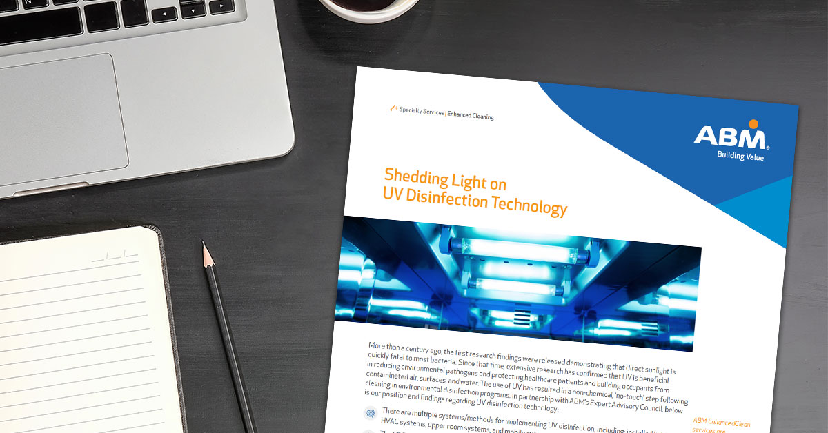 Which types of UV light disinfection are effective? How does it complement manual and electrostatic cleaning and disinfection programs? Learn more about this no-touch method in this overview. https://t.co/Aich4bYwff #flattenthecurve #thenewnormal #disinfection #fm https://t.co/K66eCGSI0b