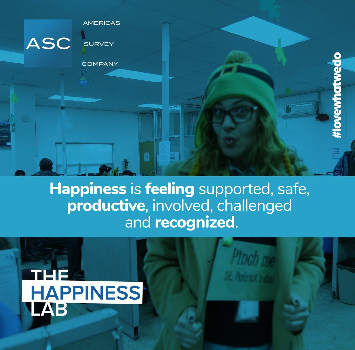 When employees are happy, organizations shine and prosper. The #HappinessLab #AmericasSurveyCompany  #callcenters #callcenterservices #surveyresearch #phoneanswering #datacollection #marketresearch #marketingresearch #lovewhatwedo pic.twitter.com/BPG45B6OG1