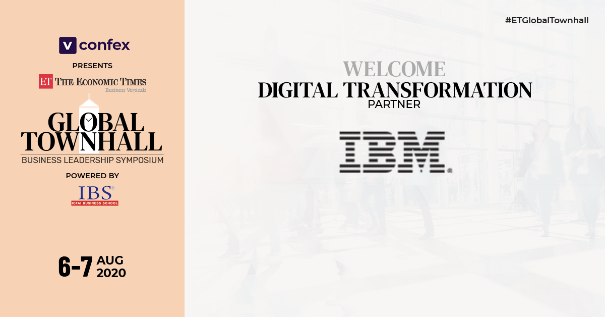 We are proud to announce @IBM as the Digital Transformation partner for #ETGlobalTownhall  Join us to watch global business leaders global thought leaders come together to help shape the global, regional, & local agenda for the post-Covid world.  Register: https://bit.ly/3fOu9xZpic.twitter.com/W6fF5u1rhB