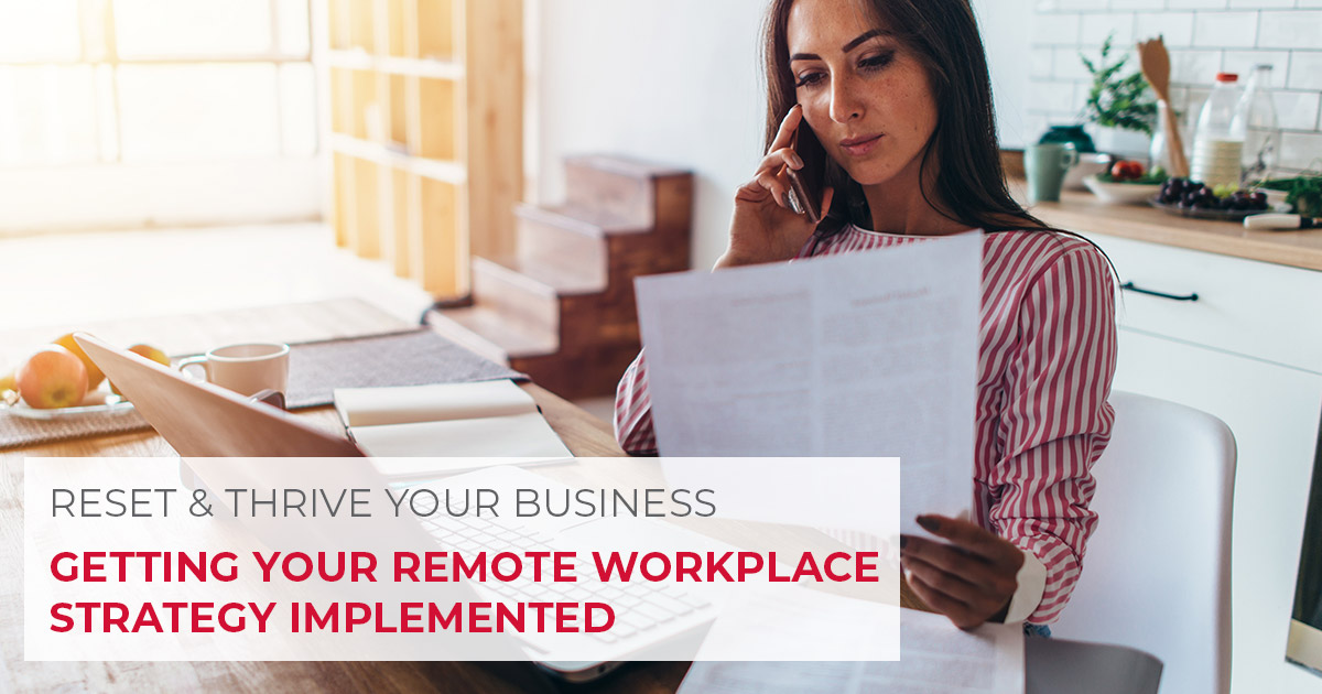 The New Normal: Is your organization ready to implement a remote workplace strategy? Learn about how to get started: https://t.co/EF7ieaIEcC #RemoteWorkplace #TheNewNormal #BackToBusiness  #WorkFromHome #ResetAndThrive https://t.co/4cO9fHnWt0