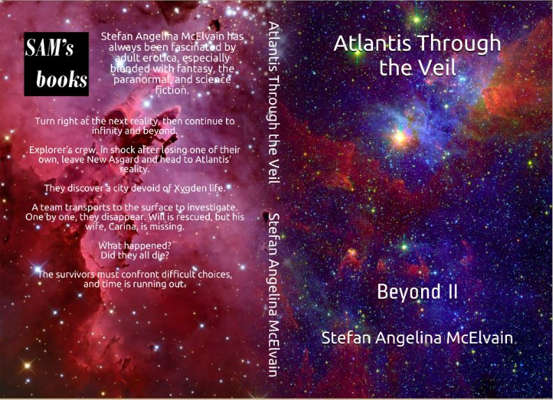 New Release https://amazon.com/dp/B08CNPMBXM  Paranormal adventure #erotica #scifi  Sequel to Amazon's bestseller Reality's Veil Paperback & eBook #KU free Explorer heads to Atlantis & discovers a city devoid of life A team transports down & one by one disappear Time's running outpic.twitter.com/GV83t9DRwn