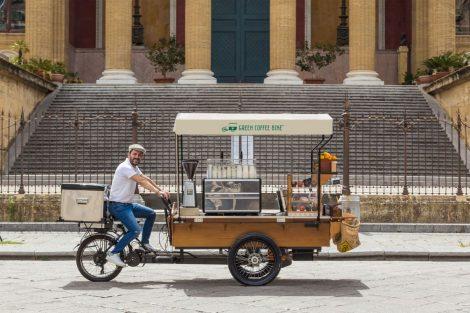 """""""Morettino Green Coffee Bike"""", la rivoluzione verde della caffetteria - https://t.co/QIU9iqkV3y #blogsicilianotizie"""