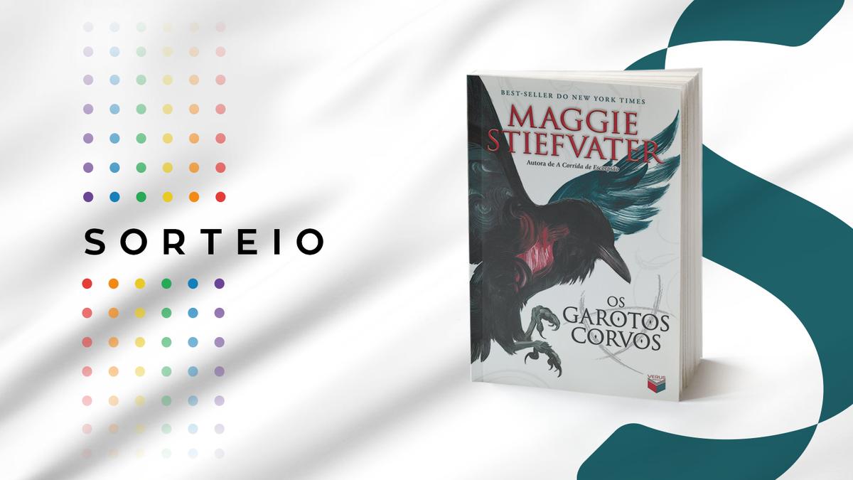 """📚 Sorteio 📚  Para concorrer a um exemplar de """"Os garotos corvos"""", de Maggie Stiefvater, siga as regras:  - Dê RT (sem citar) neste tweet; - Siga o @semspoiler_ e a @Verus_Editora;  Serão SEIS ganhadores. Apenas para o Brasil. Resultado: amanhã (05/08). Boa sorte! https://t.co/DBcUNfuqGf"""