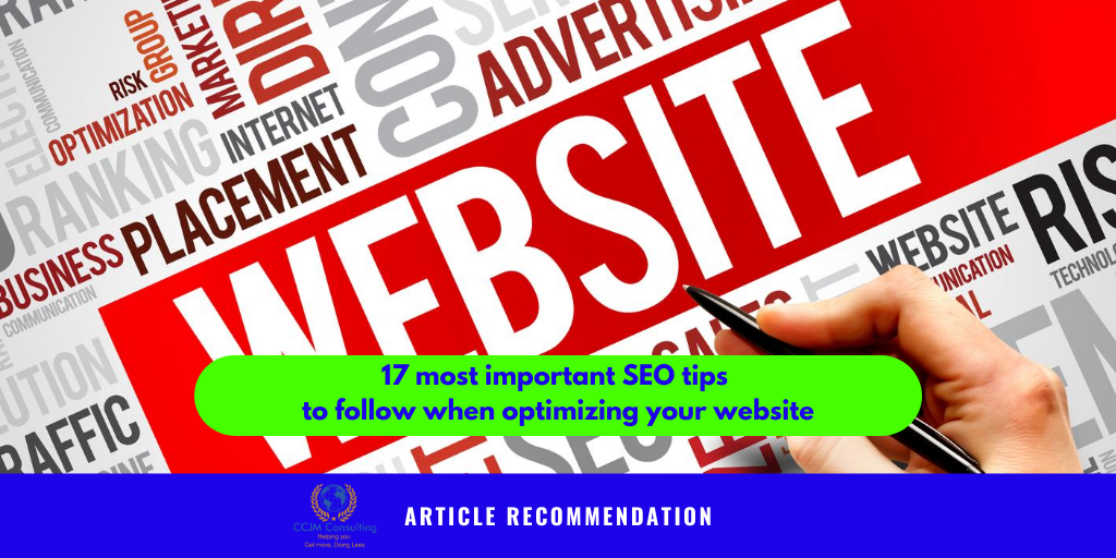 Discover in this article from Brian Dean  The 17 Most Important SEO Tips for Higher Rankings.  https://backlinko.com/actionable-seo-tips…  #SEOtips #article #businessdreams #success #determination #inspiration #businessgoals #nevergiveup #ccjmconsulting #startupbizexpertpic.twitter.com/iV0q4xJVLT